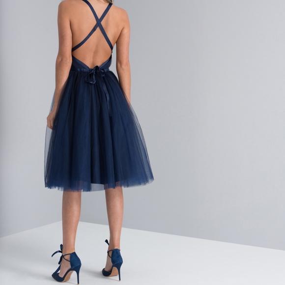 fee11fd57e26 Chi Chi London Dresses | Navy Chi Chi Loucia Tulle Midi Dress | Poshmark